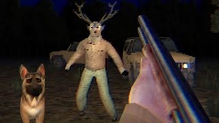 The Whitetail Incident - Beware the Deer Demon in this Fun Little PS1 Styled Cultist Horror FPS Game