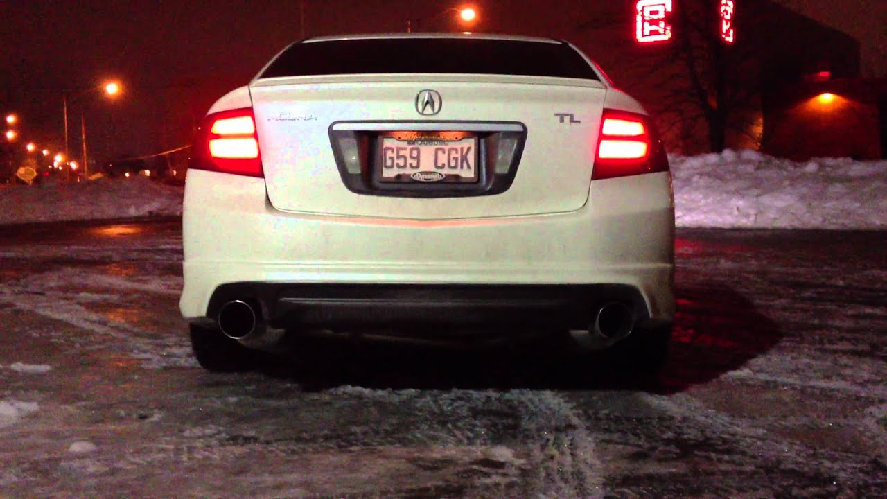 Acura TL Greddy Exhaust Start Up Rev YouTube - 2006 acura tl performance parts