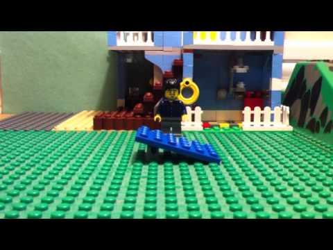 Napoleon Dynamite Bike Jump In Lego Youtube
