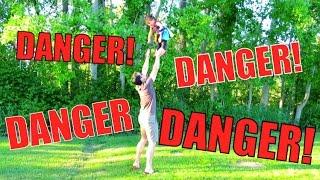 DANGER DANGER! - May 01, 2016 -  ItsJudysLife Vlogs