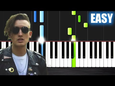 gnash - i hate u, i love u (ft. olivia o'brien) - EASY Piano Tutorial by PlutaX