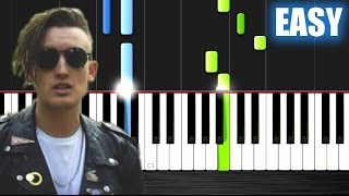 gnash i hate u i love u ft olivia o brien easy piano tutorial by plutax