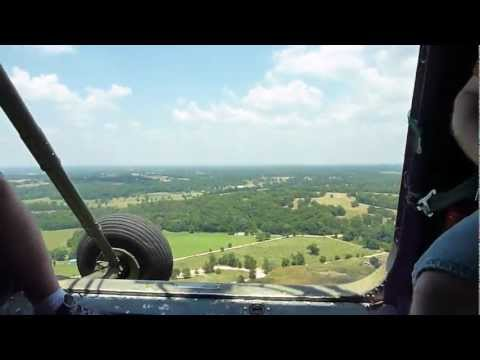 OFASTS 2012 - Taking a ride in the UH-34d Sikorsky helicopter