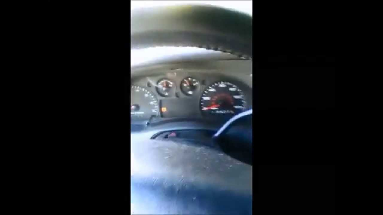 Installing New Gear Shift Indicator: Ford Ranger