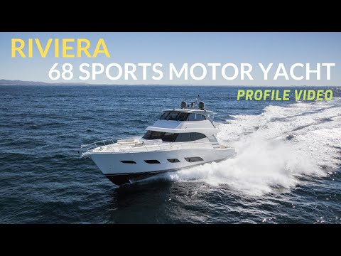 Riviera 68 Sports Motor Yacht - NEW VIDEO First In-depth loo