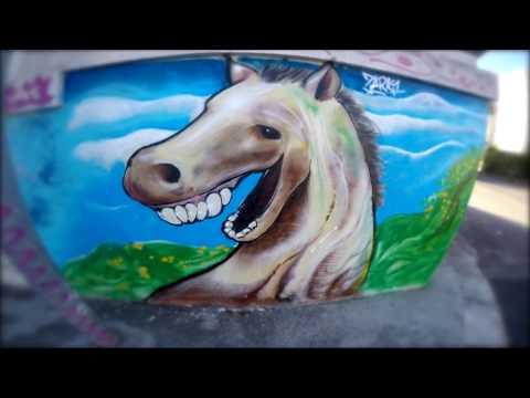 ZOMBIE HORSE - graffiti character