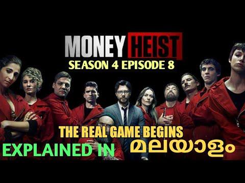 Download Money Heist Season 4 /Episode 8 / Explained in / Malayalam /Revealtimes