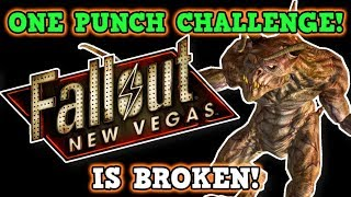 Fallout New Vegas IS A PERFECTLY BALANCED GAME WITH NO EXPLOITS - Excluding One Punch Only Challenge