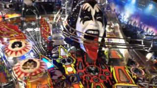 Kiss Pinball Pro by Stern with Mezel Mod and other Upgrades