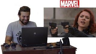 Gun Builder Reacts to Gun Scenes of the MCU