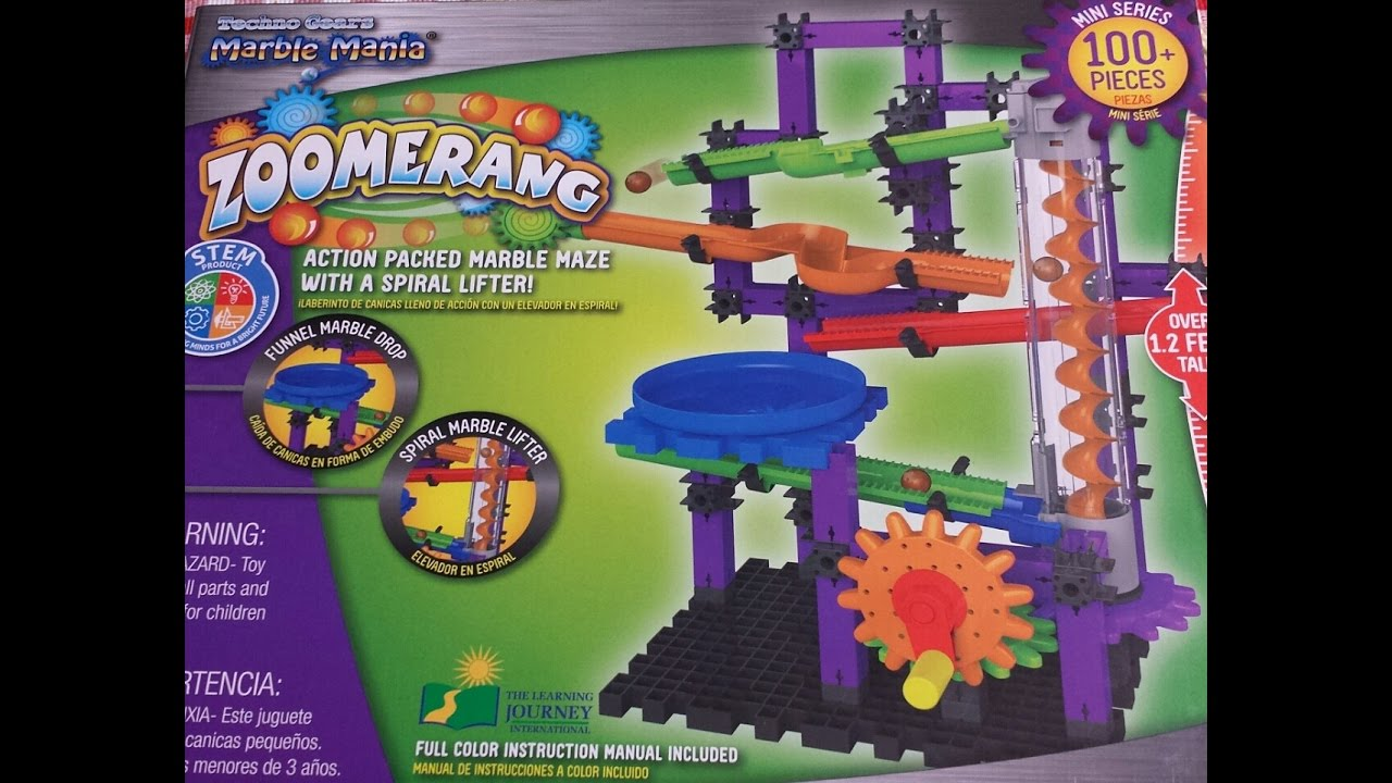 Unboxing Marbel Mania Zoomerang By Andres Playtime Youtube