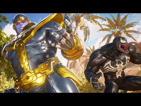 Marvel vs Capcom: How to defeat Thanos with Spider-man | Superhero FXL Gameplay