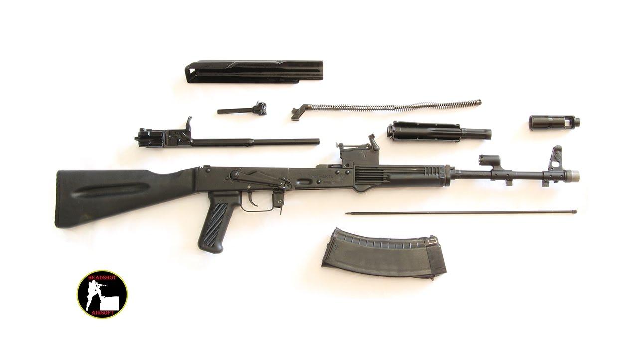 Разборка и чистка АК-74М ОС-АК74М СХП | Live #Прямой эфир ...