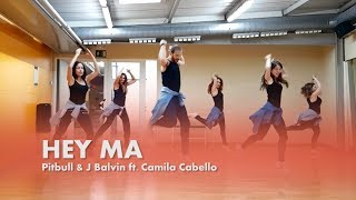 Hey Ma - Pitbull & J Balvin ft Camila Cabello (Coreografía Zumba) William Morales