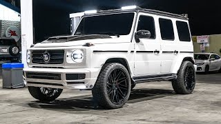 #RDBLA BRABUS G WAGON CRAZY LIGHTS & LOTS OF CARBON FIBER!