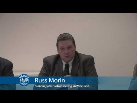 Rep. Russ Morin discusses the Connecticut Healthcare Partnership