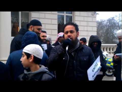 DEMONSTRATION || FRENCH ATTACK MUSLIMS IN MALI || MUSLIMS SPEAK UP