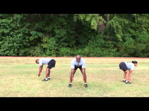 Army Physical Readiness Training Prepration Drill