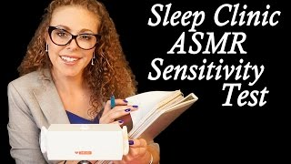 test your tingles sleep clinic asmr sensitivity test roleplay w many triggers