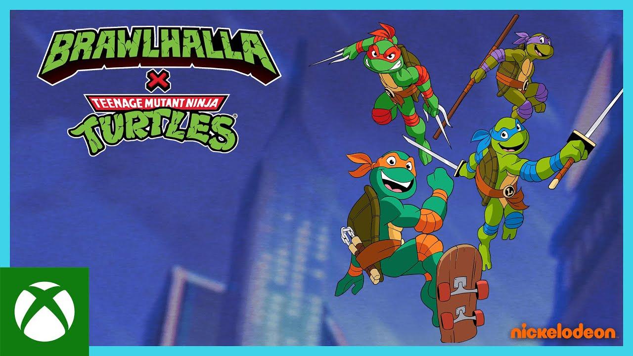 Brawlhalla: Teenage Mutant Ninja Turtles Crossover Trailer