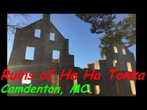 Castle Ruins of HA HA Tonka State Park, Camdenton, MO.  Dec 2017