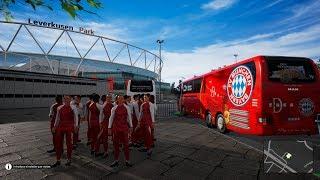 Visitando al Bayer Leverkusen | #3 Transportando al equipo Bayern Múnich | DLC Equipos de Fútbol