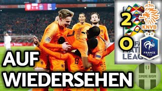 Dominio Olanda, Germania retrocessa ||| Olanda-Francia 2-0