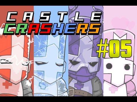 Castle Crashers #05 - SANDUICHE-ICHE ft. DoisMarmotas e Pudell