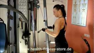 Vision Fitness Trainingsstation ST710 Teil1