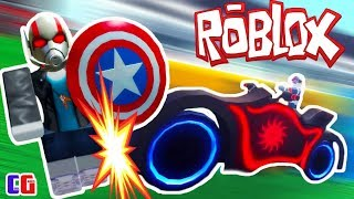 Hijacked BIKING Spider man and Defeated CAPTAIN AMERICA! Super-Hero Tajkon in Roblox by Cool GAMES