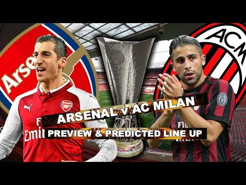 ARSENAL v AC MILAN - LET'S FINISH THE JOB - MATCH PREVIEW