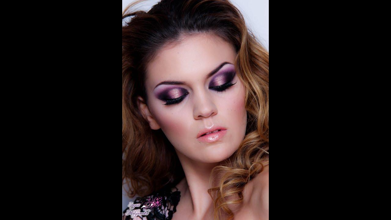 Make up de Noche Vieja . 31.12.2014- Tecnica de Gel. - YouTube