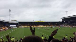 Sheffield United Fans At Port Vale