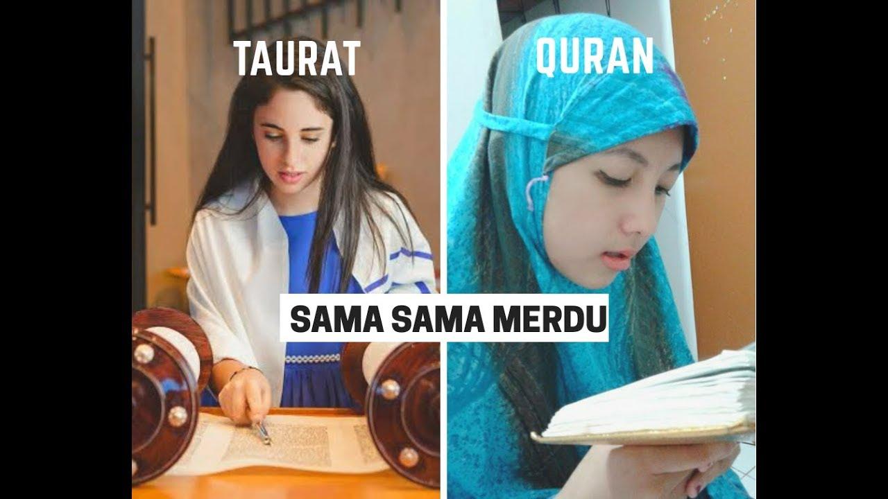 Aneh Ternyata Beginilah Bacaan Kitab Taurat Merdu Mana Sama Quran Youtube