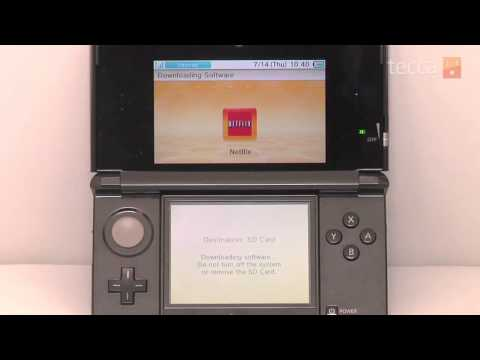 Just  Me: How to install Netflix on your Nintendo 3DS.