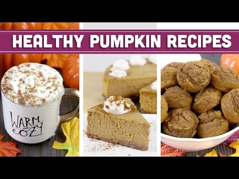 Healthy Pumpkin Recipes For Fall, Thanksgiving & Christmas! Cheesecake, PSL & More - Mind Over Munch
