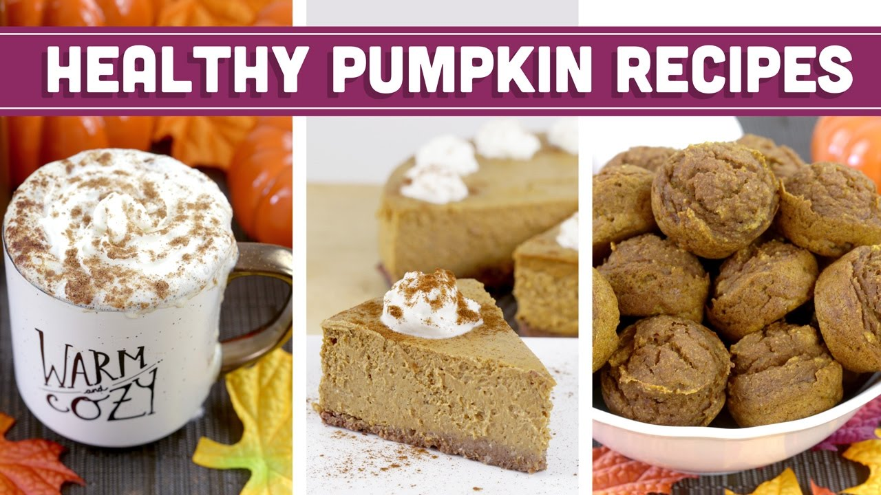 Healthy pumpkin recipes for fall thanksgiving christmas healthy pumpkin recipes for fall thanksgiving christmas cheesecake psl more mind over munch youtube forumfinder Images