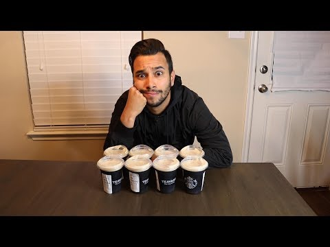 I Tried Drinking 8 Cups Of Nitro Brew In 8 Hours | Coffee Challenge