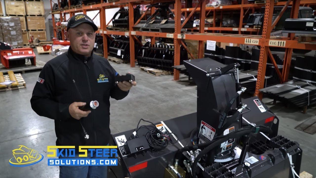 medium resolution of bobcat 7 pin electrical controls for skid steer snow blower warehouse walkthrough