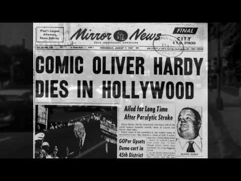 Goodbye Babe: A tribute to Oliver Hardy from Stan Laurels perspective