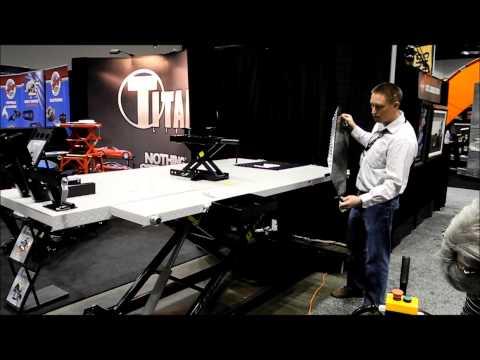 Titan 1500 Lb Electric Motorcycle ATV Lift Table