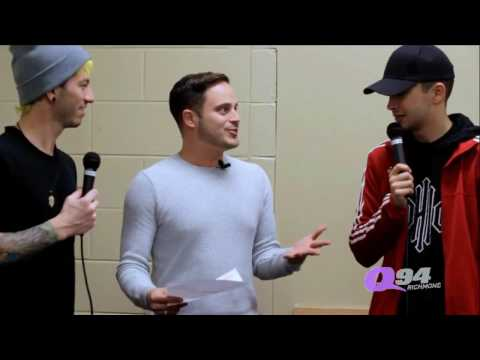 twenty one pilots interview Charlottesville, Virginia 1/22/17