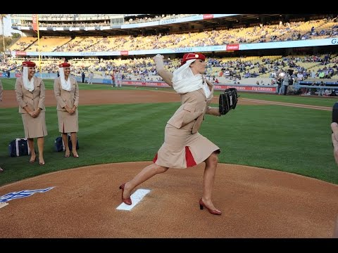 Thumbnail: Emirates steals the show with the Los Angeles Dodgers | Baseball | Emirates Airline