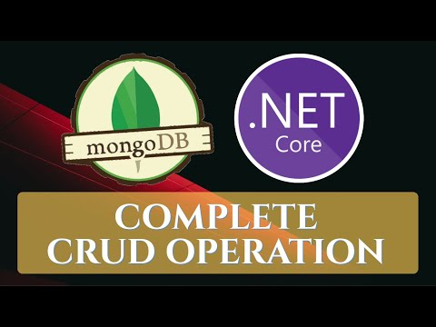 CRUD operation using MongoDB and ASP.Net core with simple example for beginner