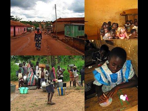 46. ΓΚΑΝΑ - GHANA: Accra, Djembe, music of africa, Winneba