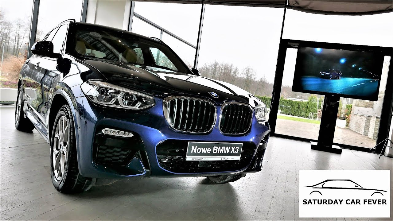 2018 New! BMW X3 – PREMIERA! Jazda Próbna TEST PL