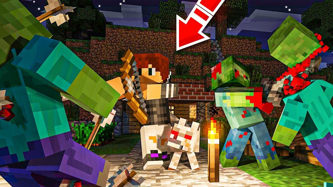 Download Minecraft ΑΛΛΑ έχει ZOMBIE APOCALYPSE!
