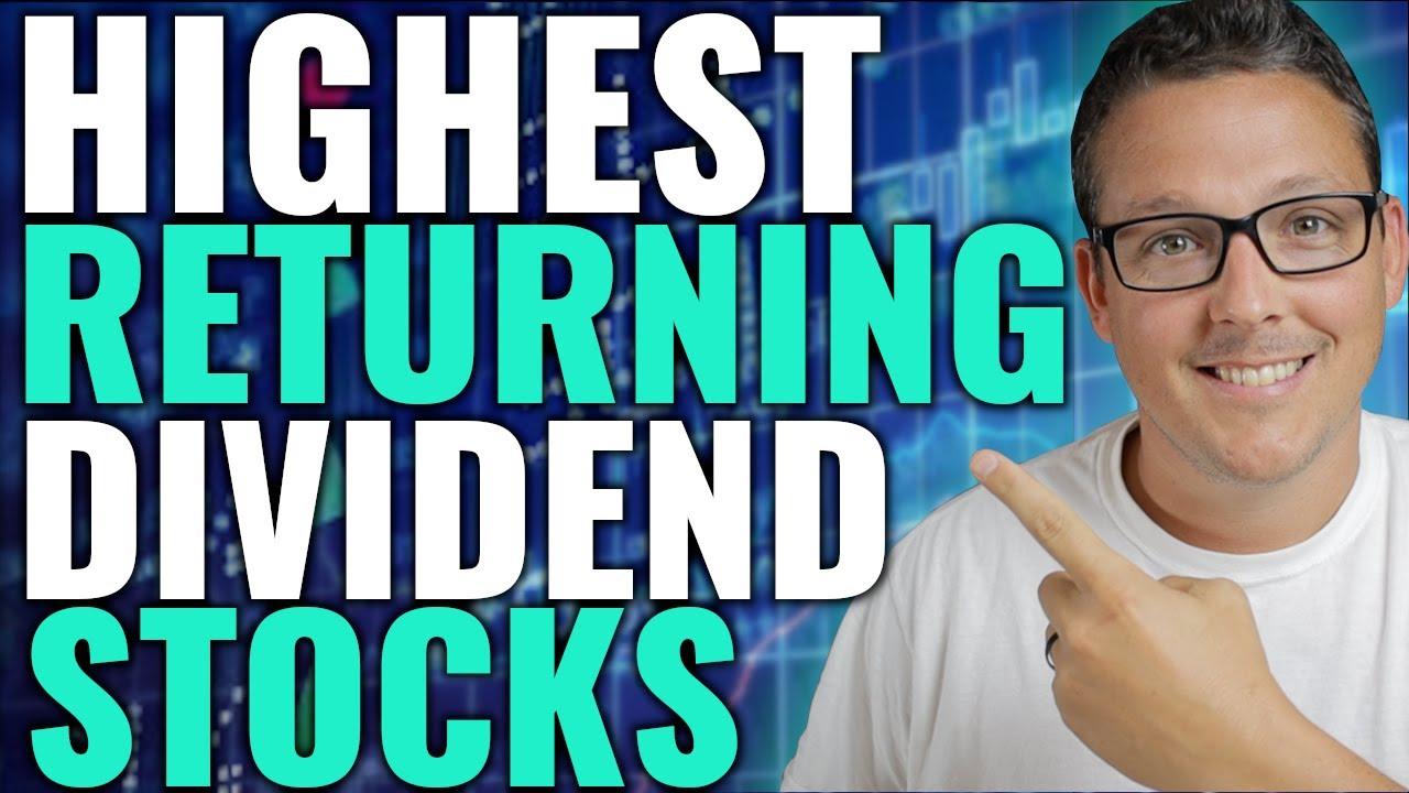 High Return Dividend Stocks For Greatest Passive Income & Profit Inside Your Dividend Portfolio