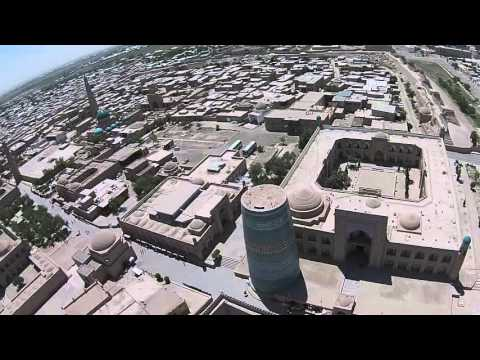 Ancient City Skies in Uzbekistan