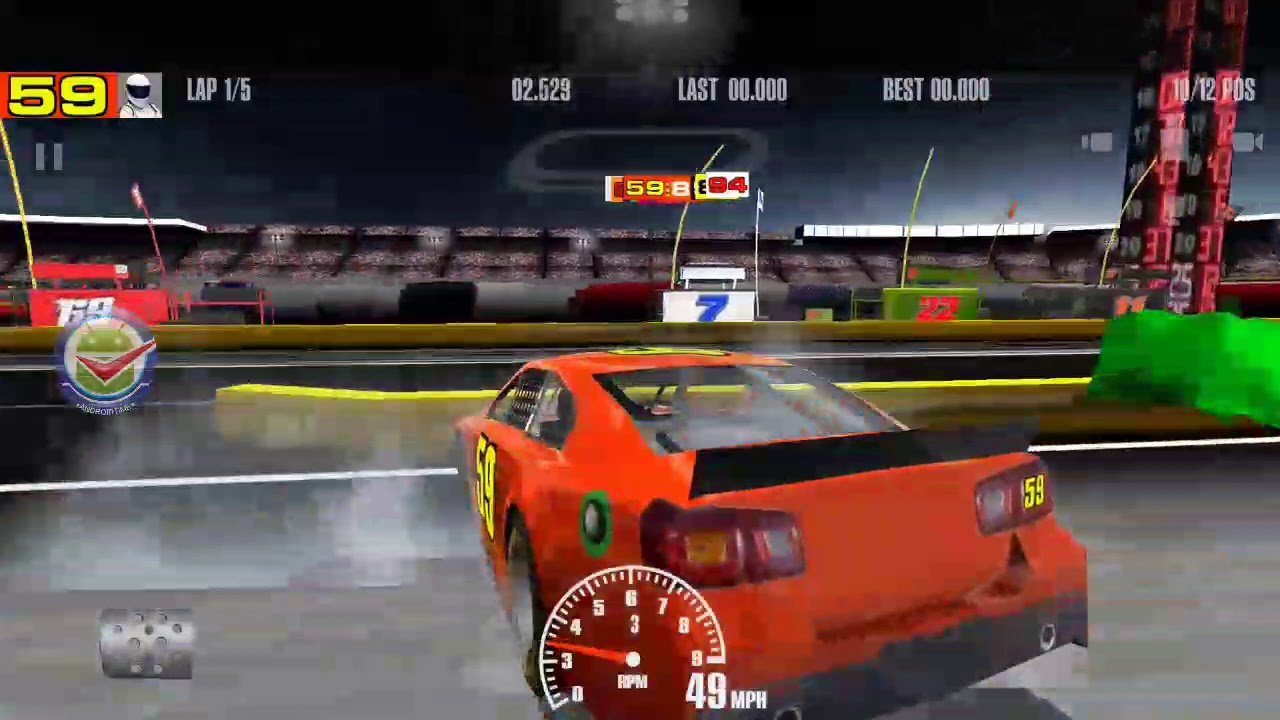 Stock Car Racing Gameplay HD Android game - YouTube